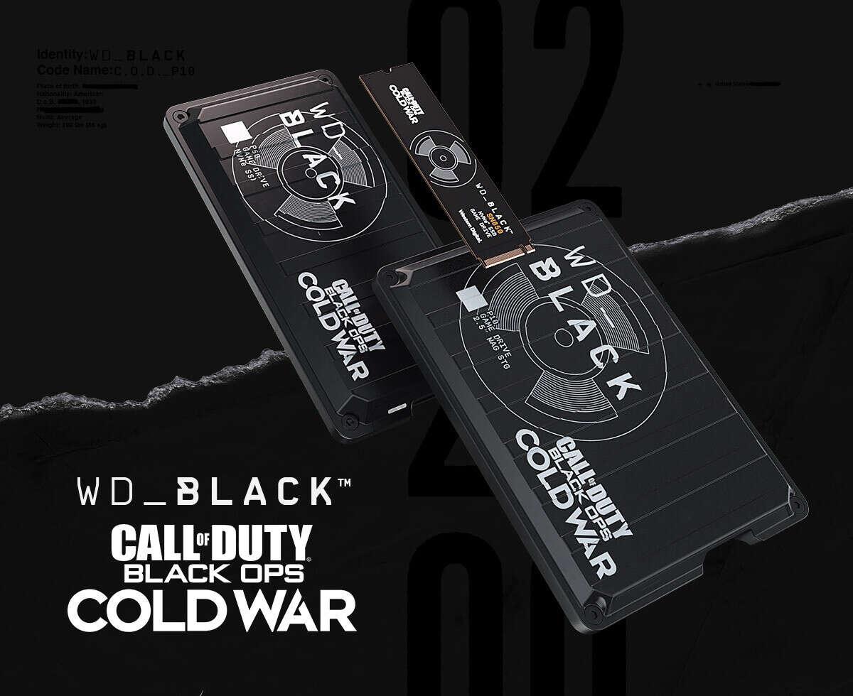 WD wypuszcza dyski Call of Duty Black Ops Cold War