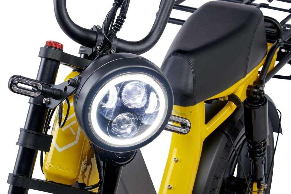 Elektryczny motorower HyperScorpion Express od Juiced Scorpion