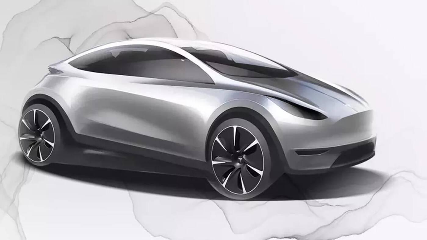Europejski samochód Tesli, hatchback Tesli, elektryczny hatchback Tesli, Tesla hatchback