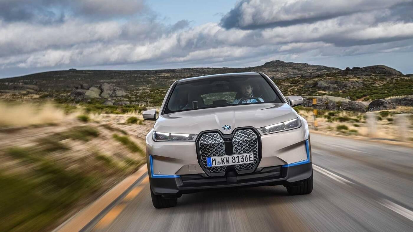 Flagowy elektryczny SUV BMW iX,BMW iX, premiera BMW iX, debiut BMW iX, elektryczny SUV BMW
