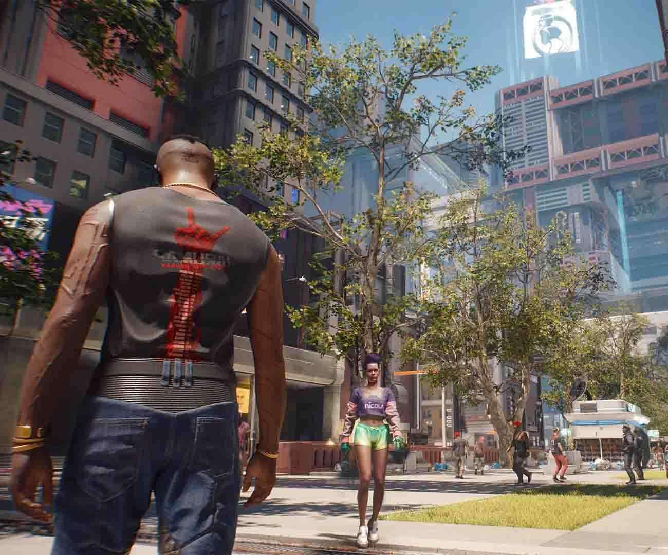 Gameplay Cyberpunk 2077 na PS4! Stara konsola daje radę