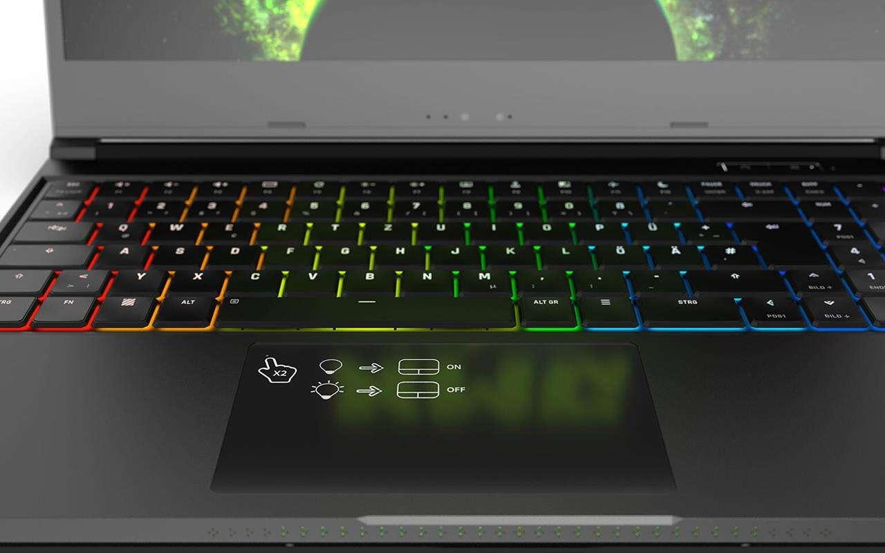 Gamingowe laptopy XMG NEO zaliczają się do jednych z niewielu