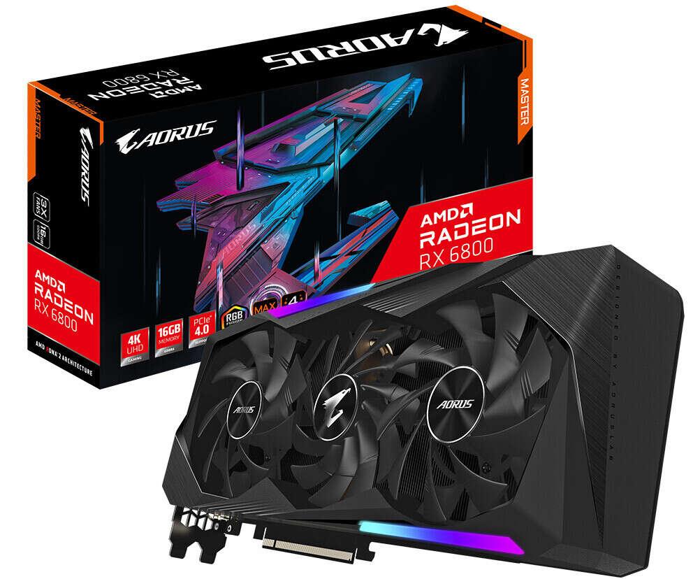AMD Radeon RX 6800 ma ogromne problemy z dostępnością