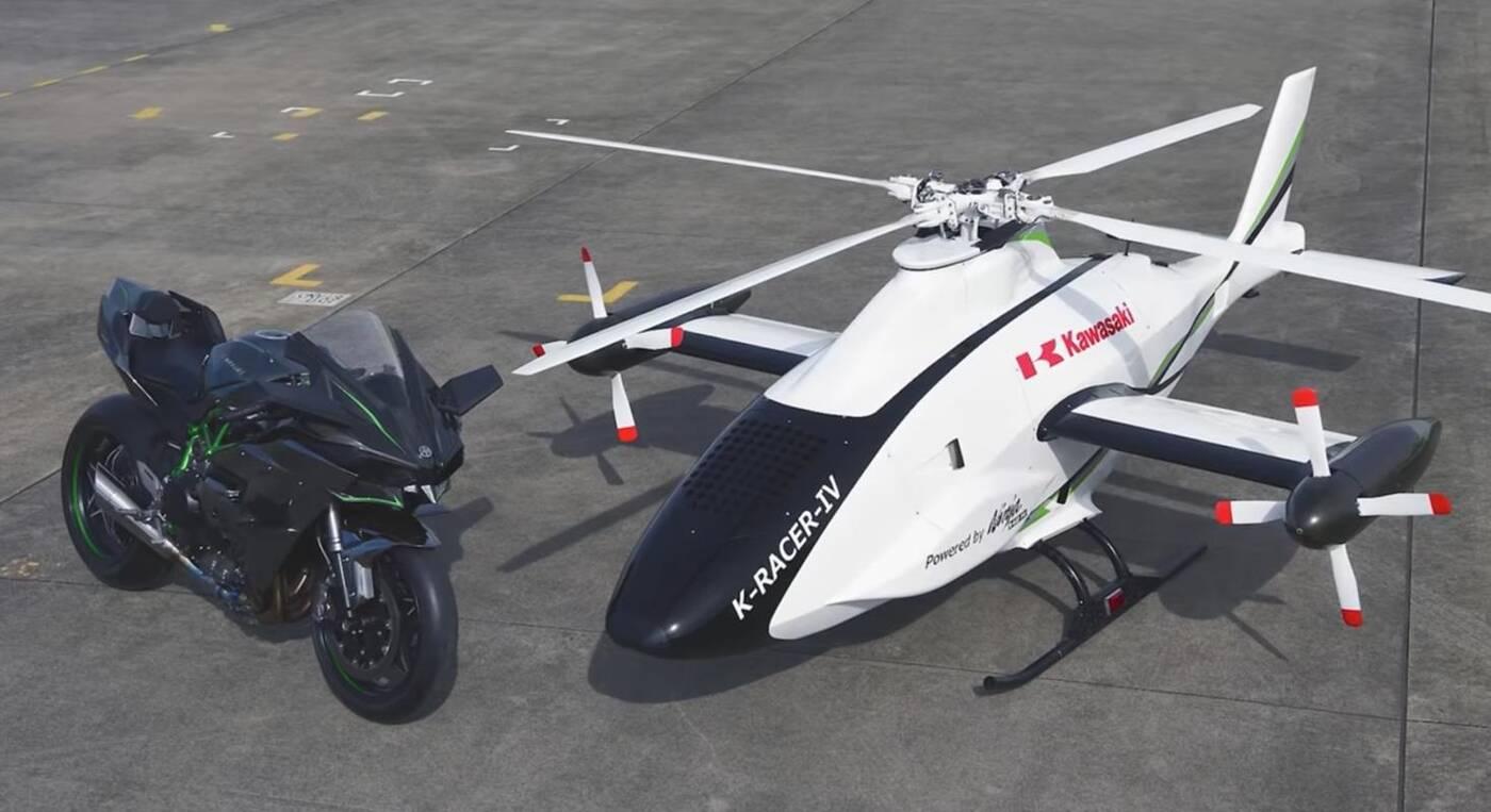 Helikopter Kawasaki K-Racer obiera na cel wysokie prędkości