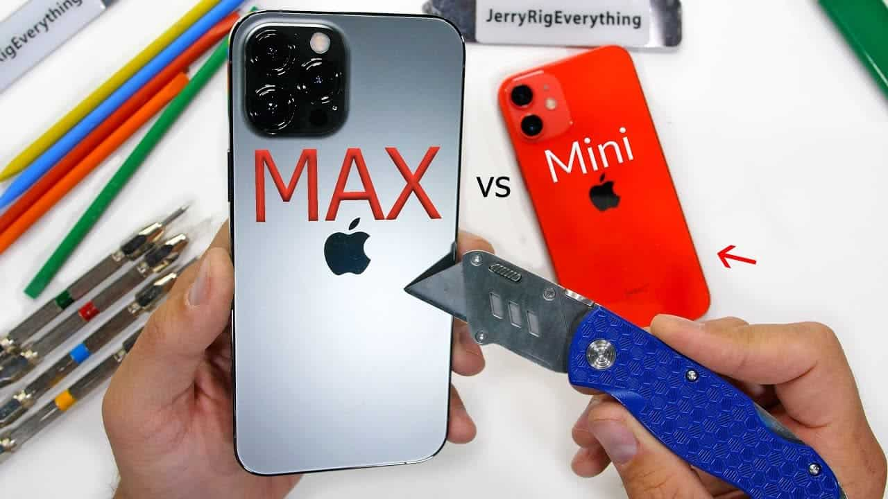 Jak iPhone 12 Mini i Pro Max wypadają w teście wytrzymałości?