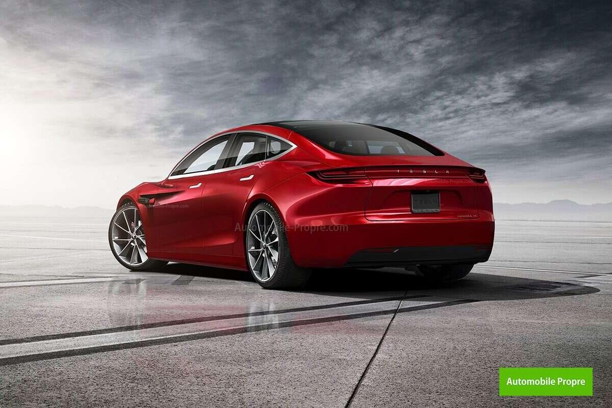 Jak wyglądałoby odświeżenie Modelu S Tesli po inspiracjach Roadsterem?