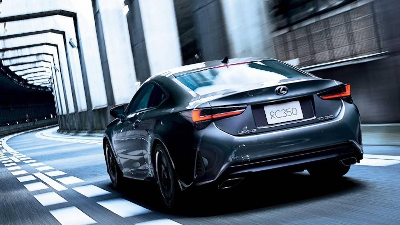 elegancki Lexus RC Emotional Ash