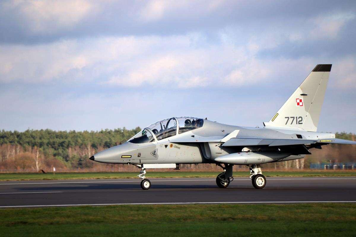 Kolejny M-346 Bielik trafił w ręce Sił Powietrznych RP