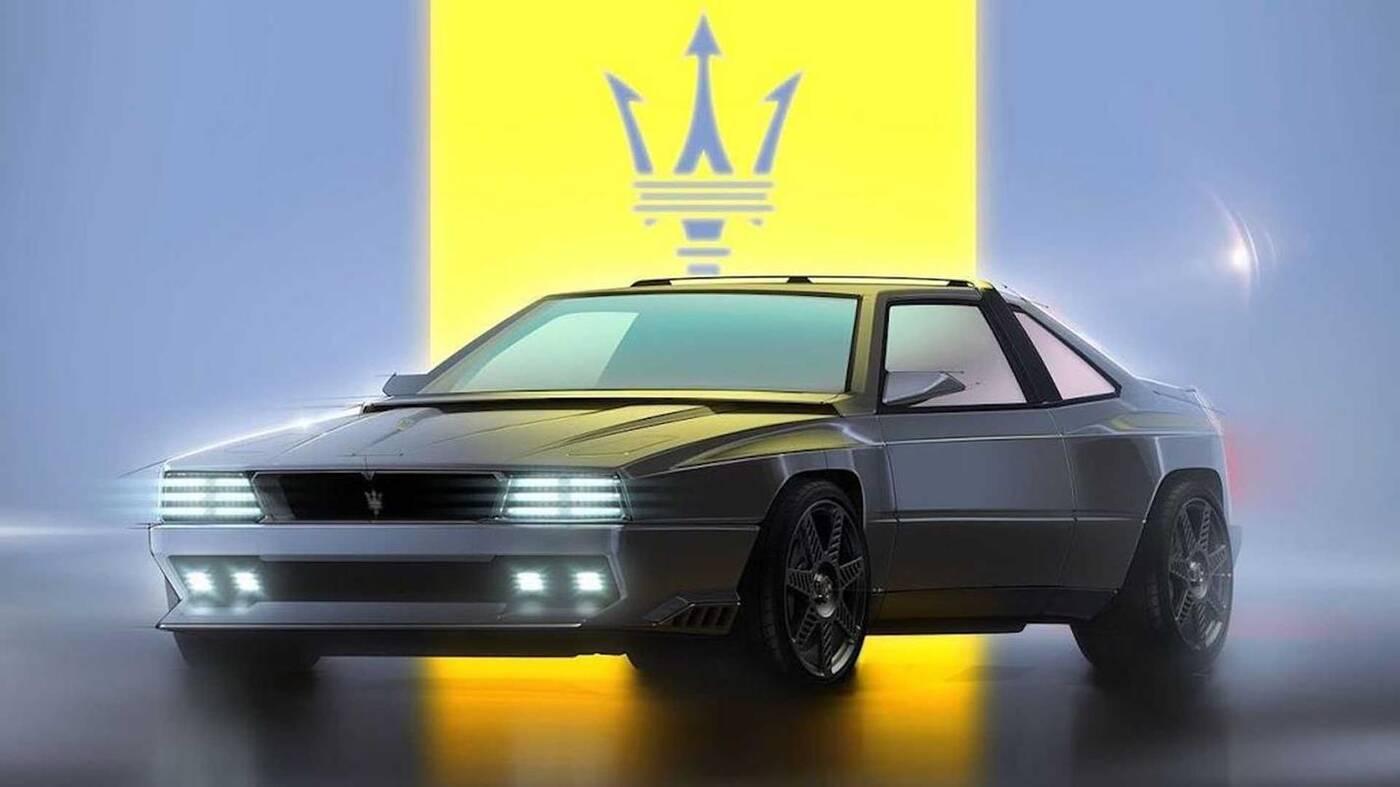 Spójrzcie na Maserati Project Rekall rodem z Cyberpunka 2077