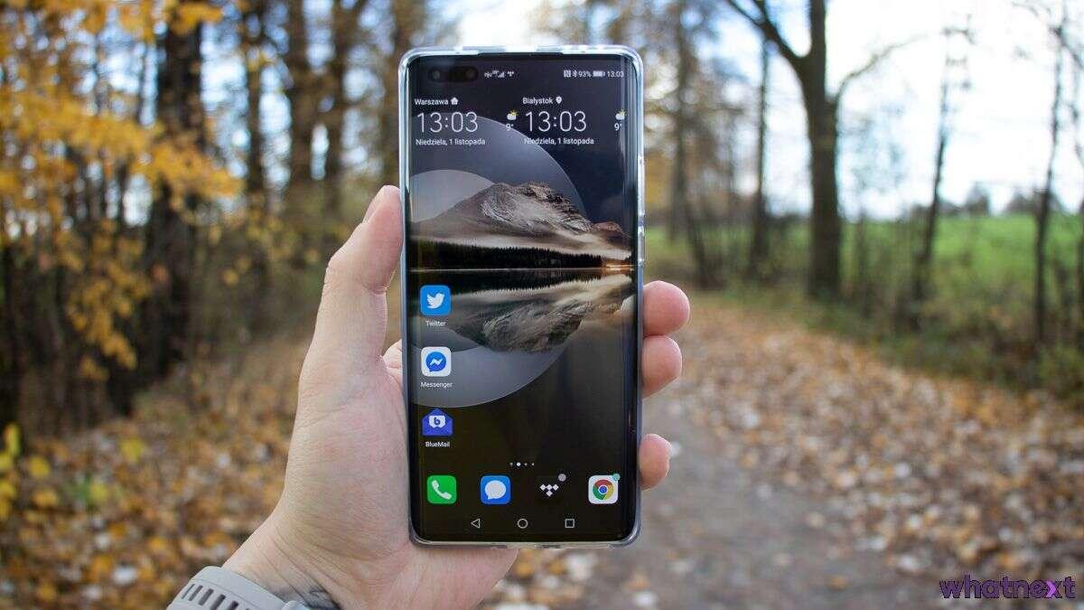 Huawei Mate 40 Pro Jesien
