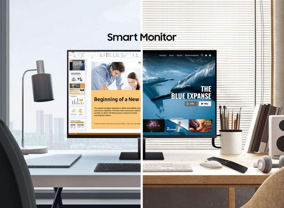 Monitory Samsung Smart Monitor idealne w dobie pandemii