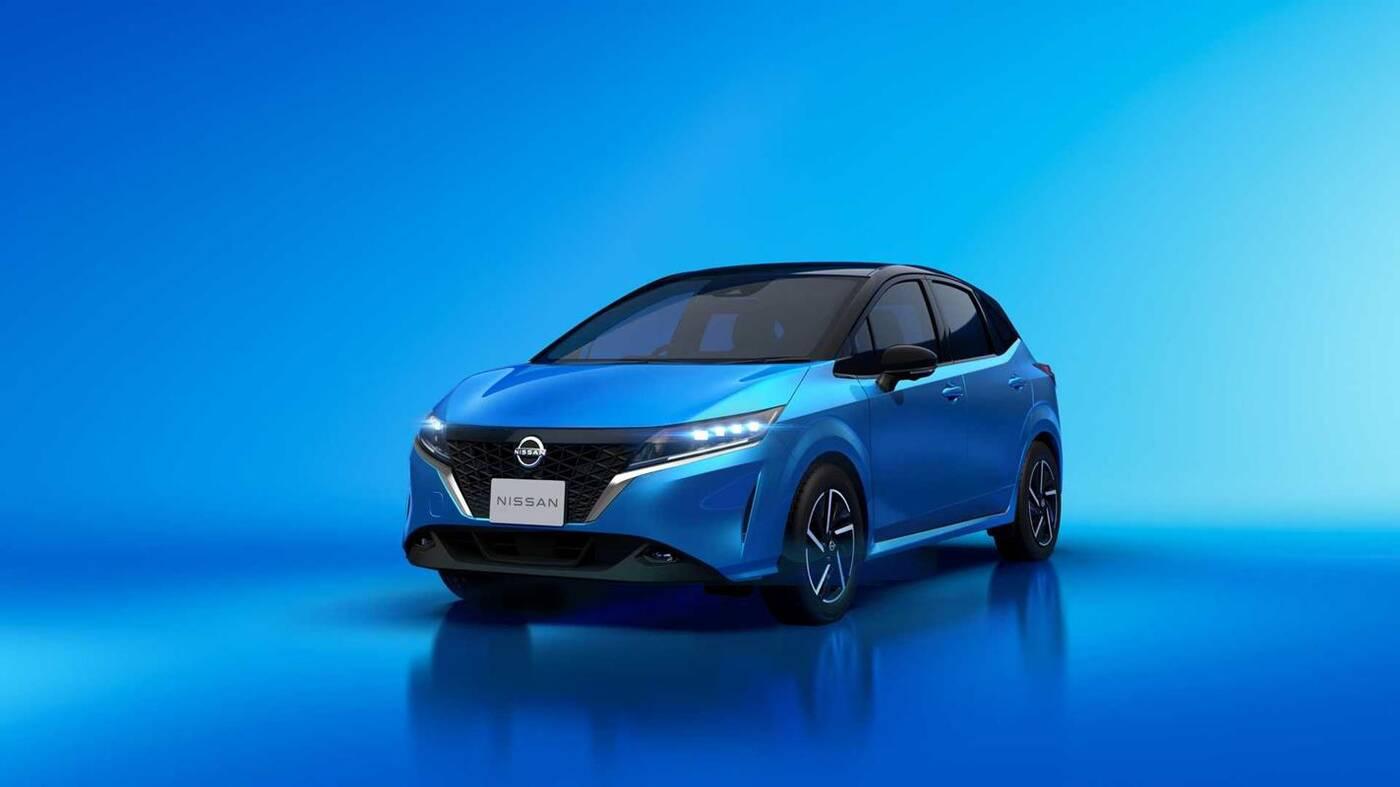 Nissan Note trzeciej generacji na 2021 rok modelowy