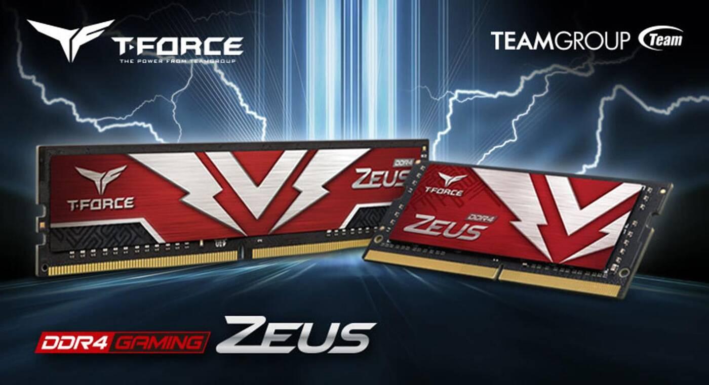 Nowe pamięci DDR4, T-Force Zeus, Team Group Zeus