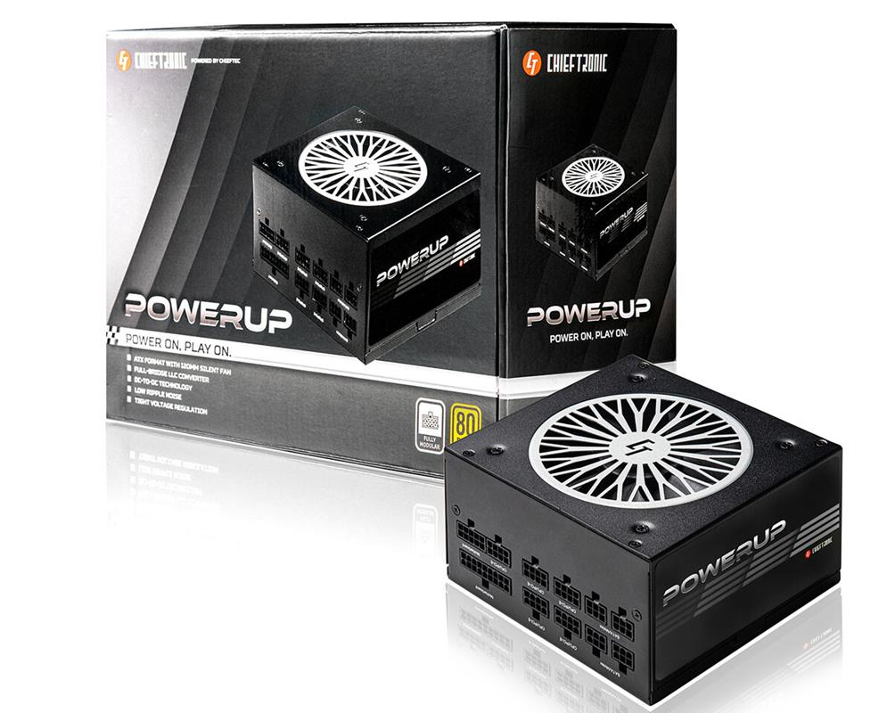 Nowe zasilacze PowerUp Chieftronic porzucają stałe okablowanie