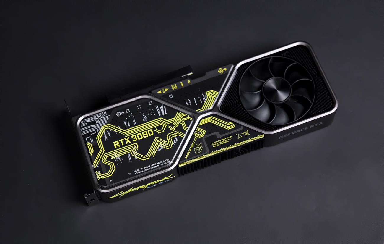 wygląd Nvidia GeForce RTX 3080 Cyberpunk 2077 Edition 3