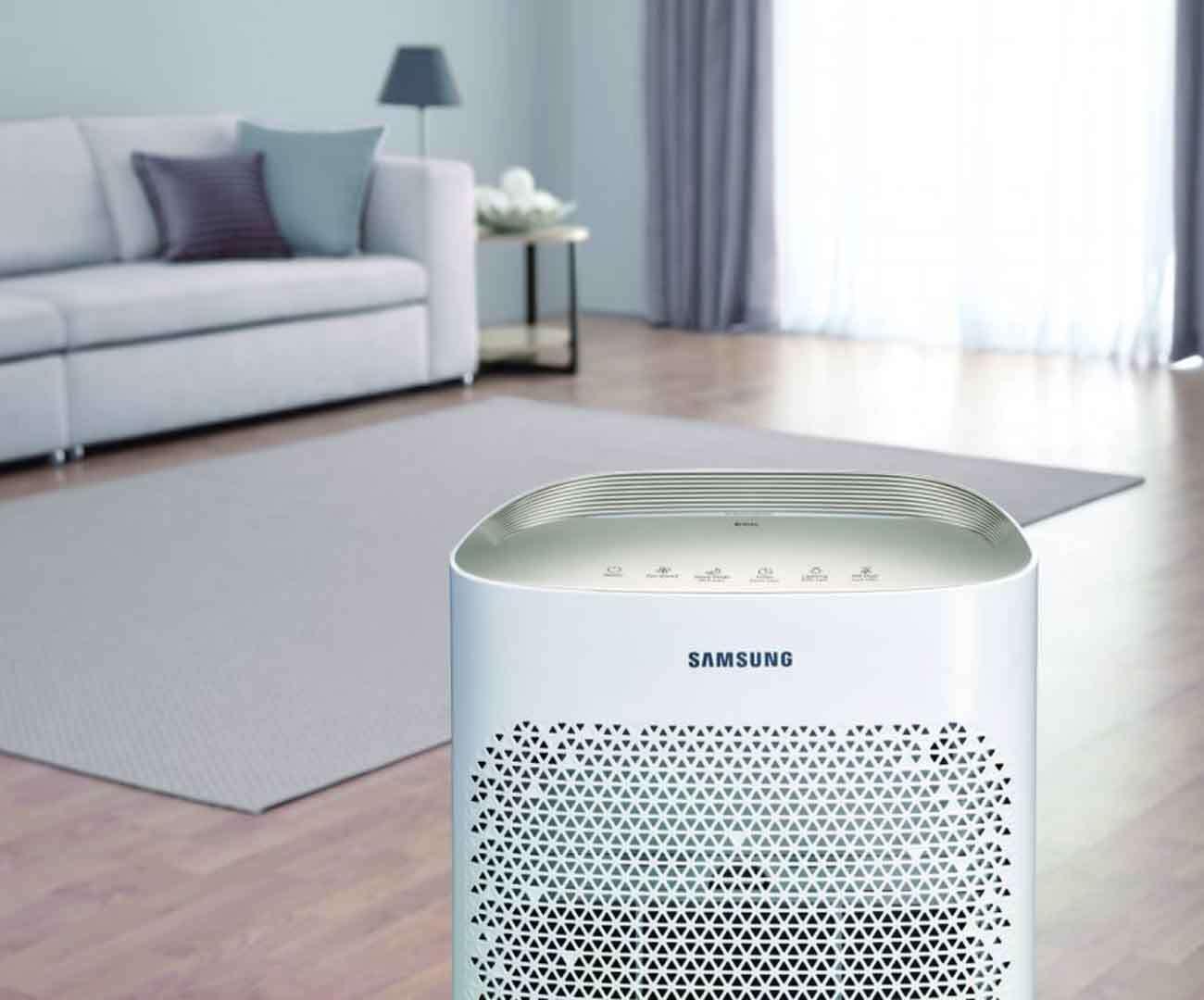 Oczyszczacz Samsung ze złotym panelem, ale jakie jest jego zastosowanie?
