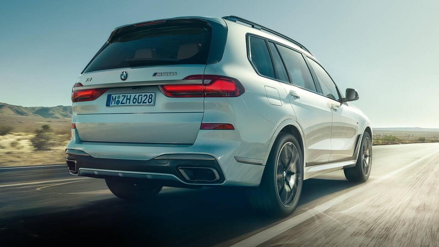 Odświeżenie BMW X7 2022 wyszpiegowane