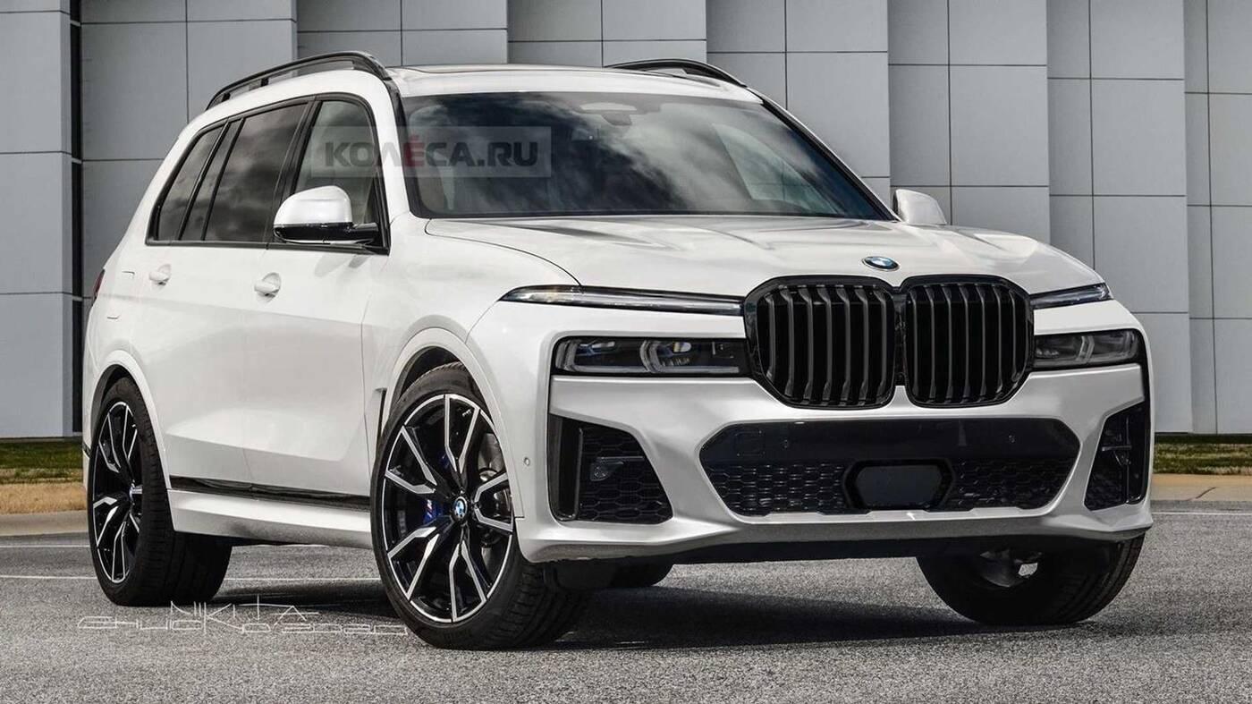 Odświeżone BMW X7 2022 może wyglądać TAK