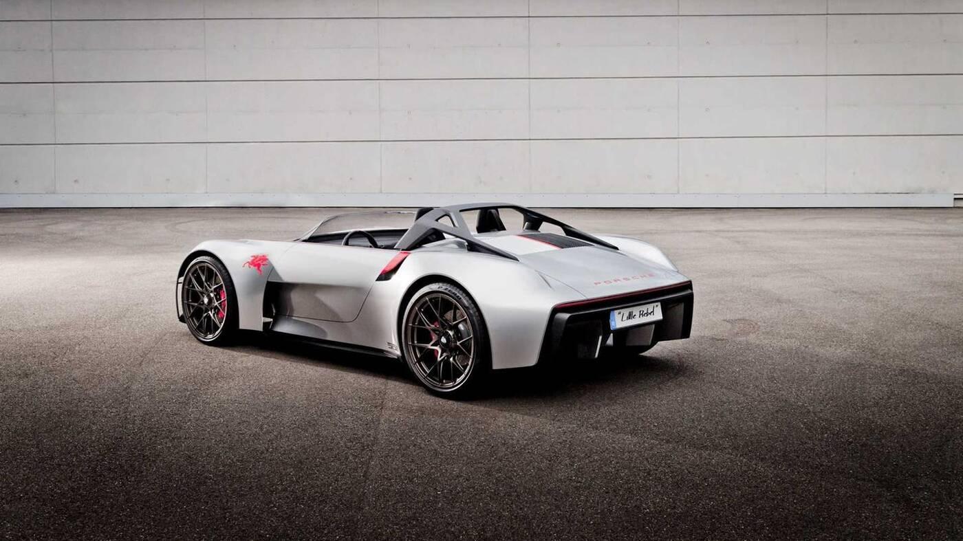 Oto Porsche Vision Spyder. Sportowy samochód bez szansy na produkcję