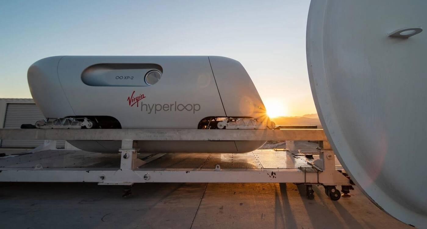 Pierwsi pasażerowie Virgin Hyperloop