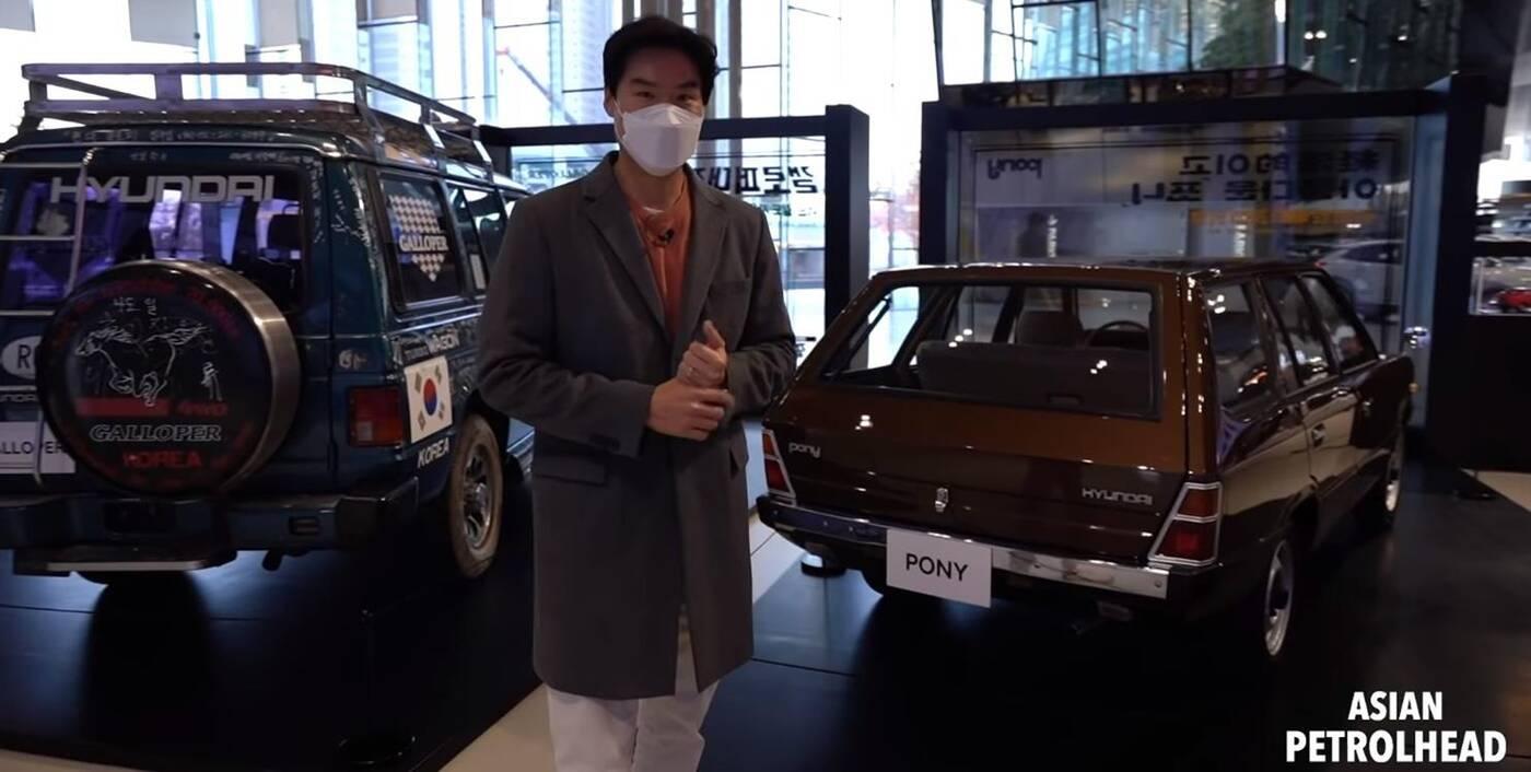 Pierwszy Hyundai, Pony, Galloper