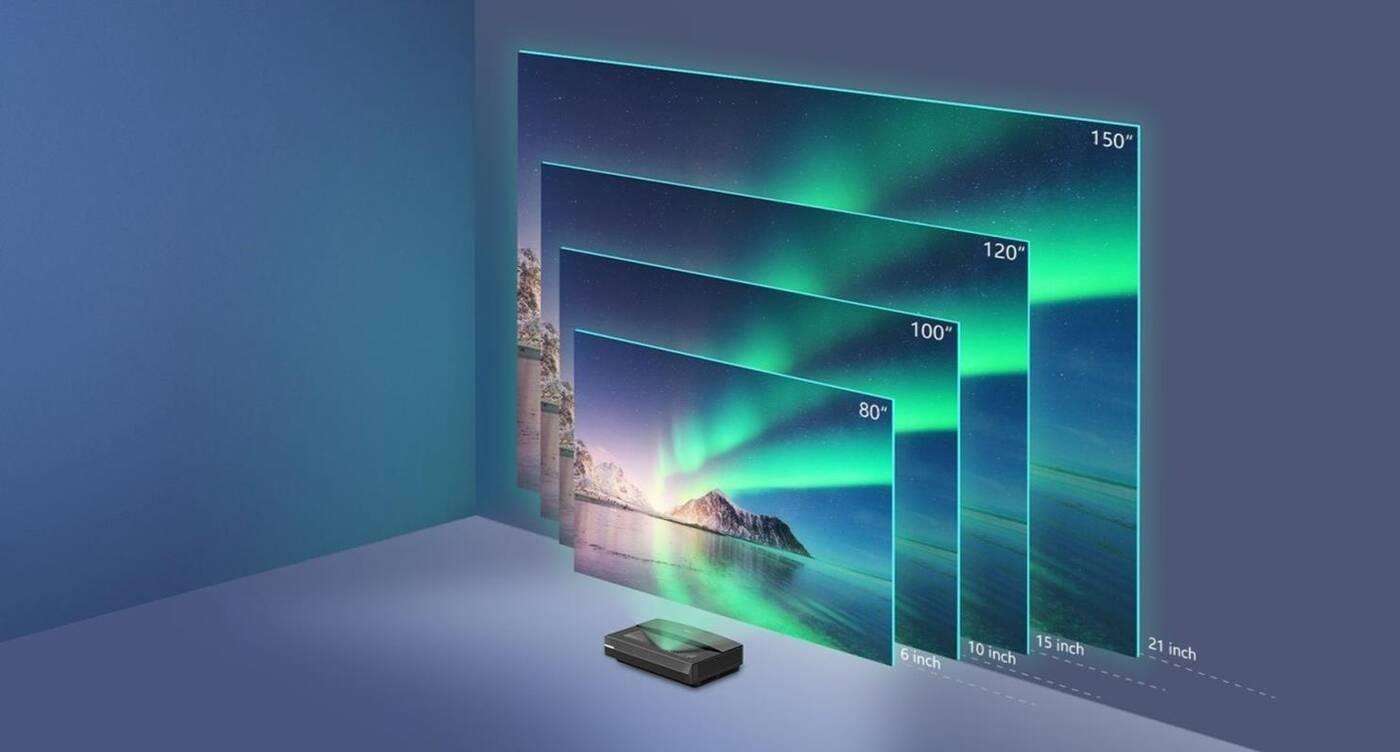 Polaris Laser TV to idealny projektor do małych pomieszczeń