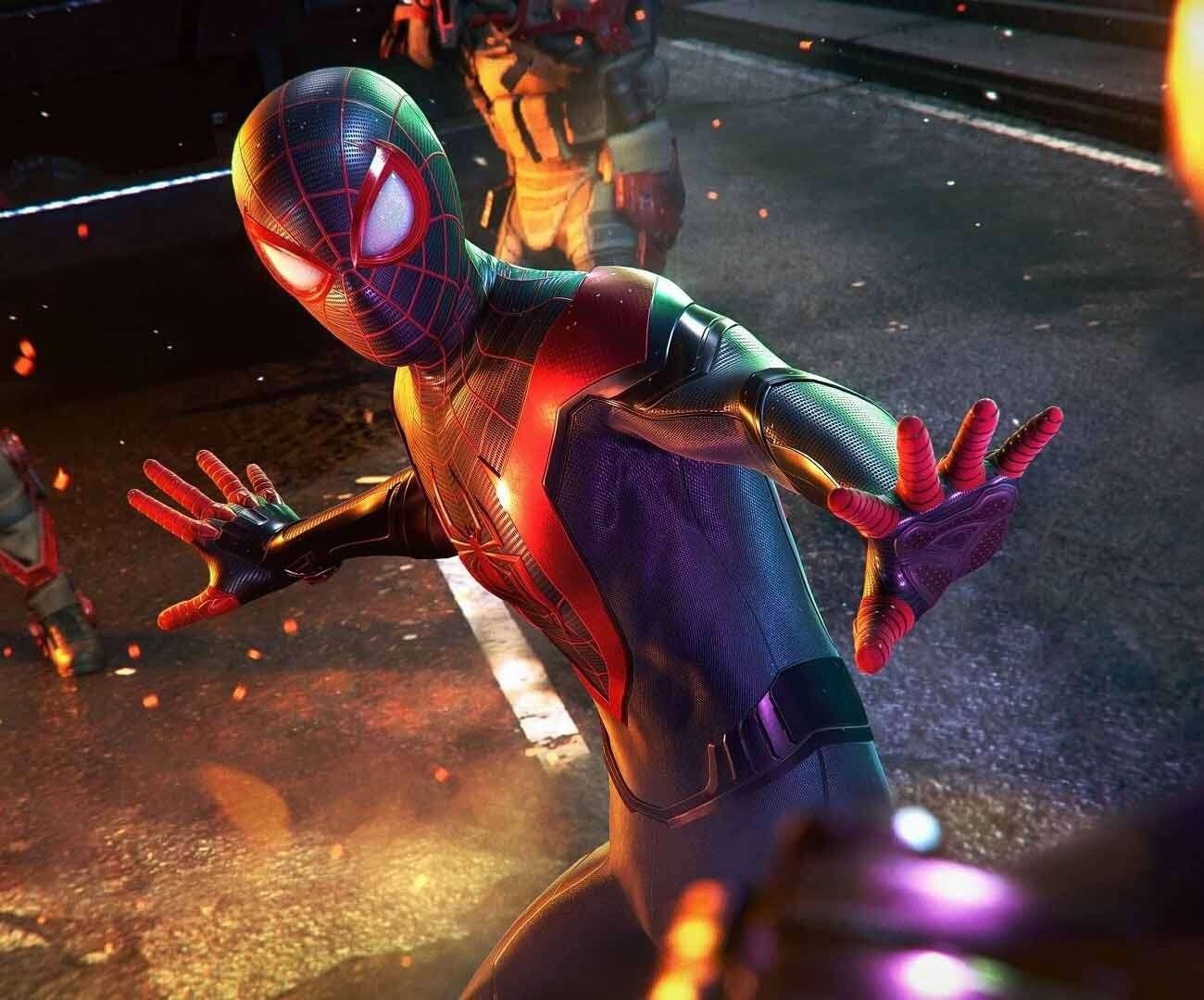 Polski dubbing Spider-Man Miles Morales na zwiastunie! Ale kot mówi po swojemu