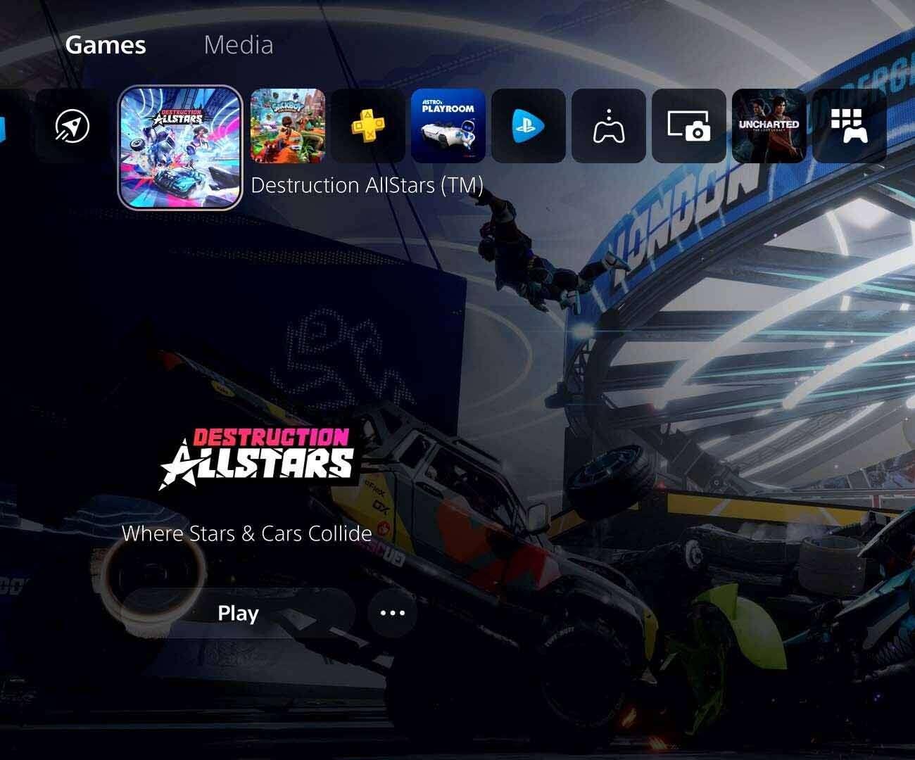 Porozmawiajmy o menu PS5