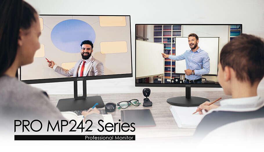 MSI prezentuje monitor dbający o oczy – PRO MP242