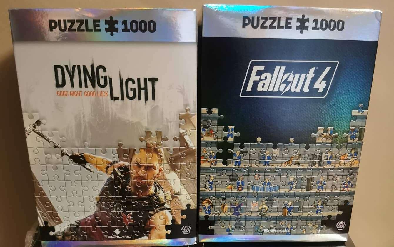 Gamingowe puzzle od Good Loot – recenzja zestawów Diyng Light i Fallout 4