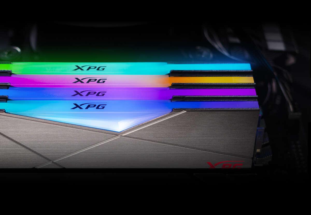 Kolejny rekord podkręcania XPG SPECTRIX D50. Pamięć DDR4 od Adaty szaleje