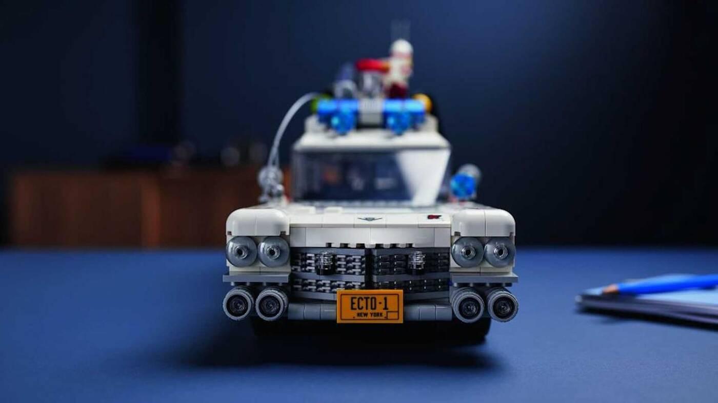 Samochód Pogromców Duchów LEGO zajmie Wam kilka dobrych wieczorów