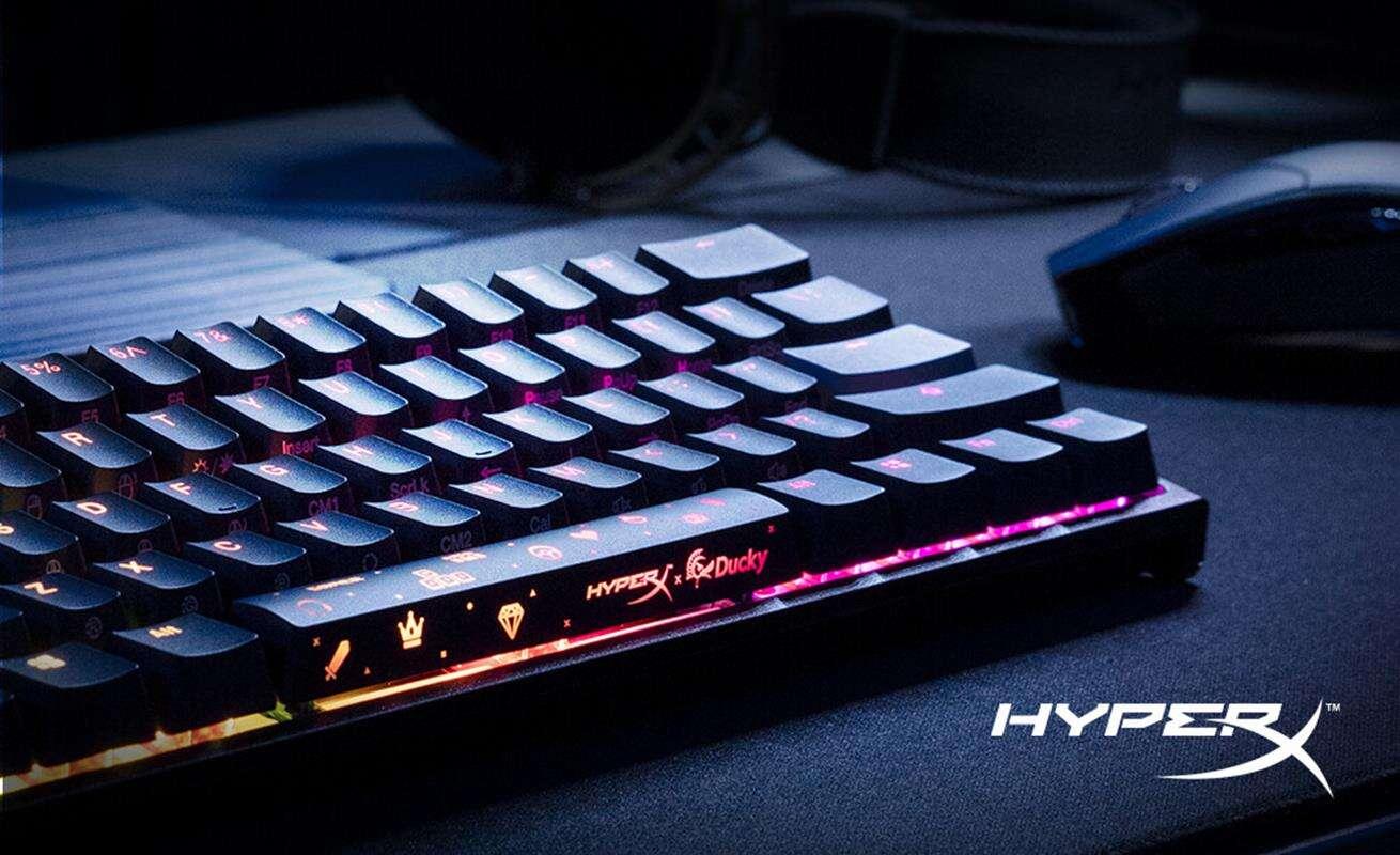 Spójrzcie na limitowaną klawiaturę HyperX x Ducky One 2 Mini
