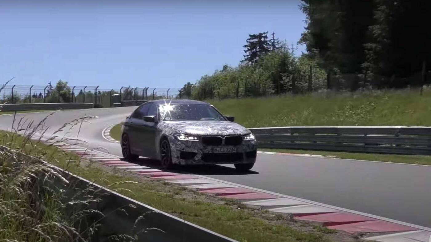 Nowe BMW M5 CS ze świeżymi szczegółami