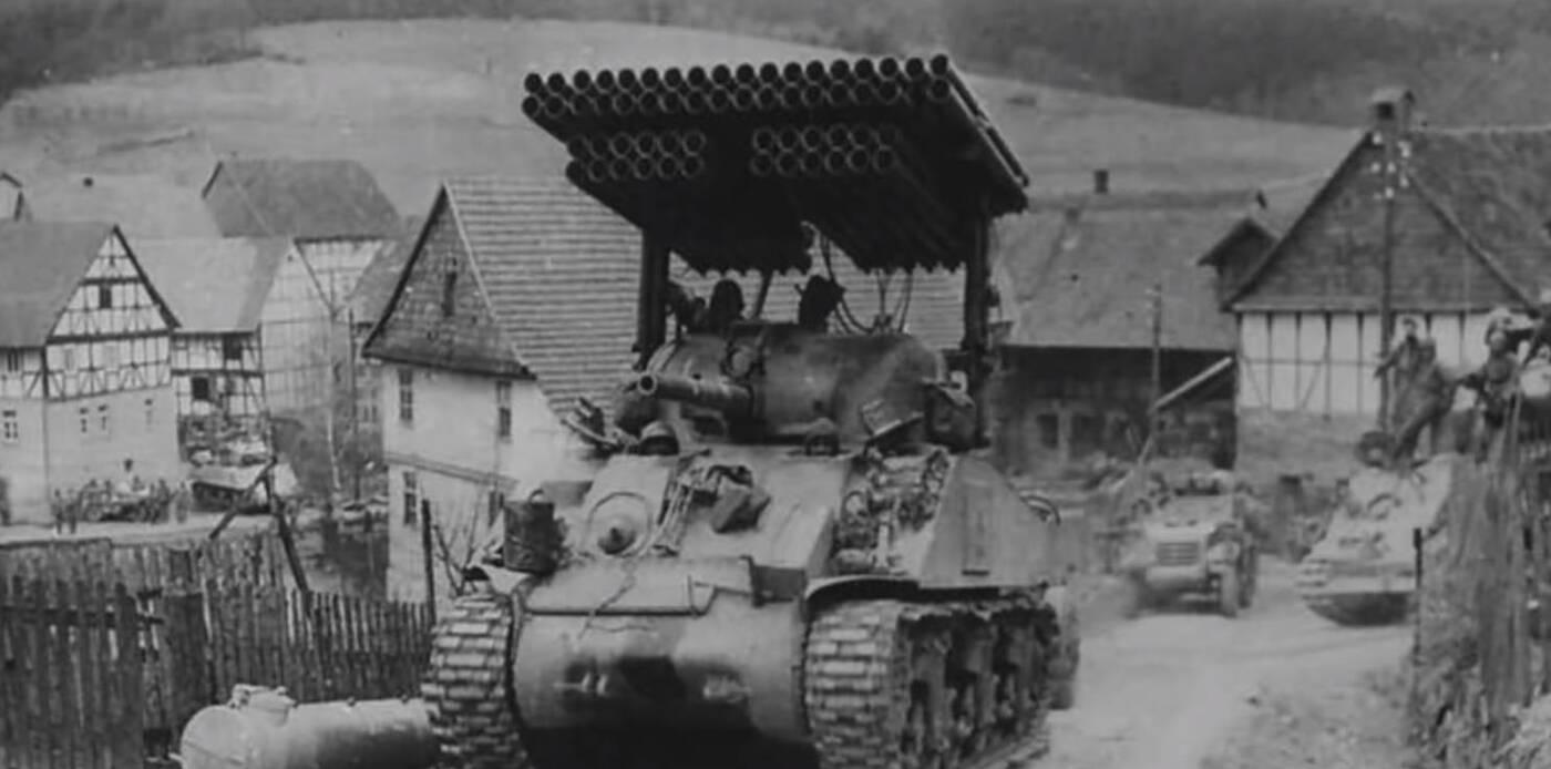 T34 Calliope, czyli czołg z wyrzutnią rakiet