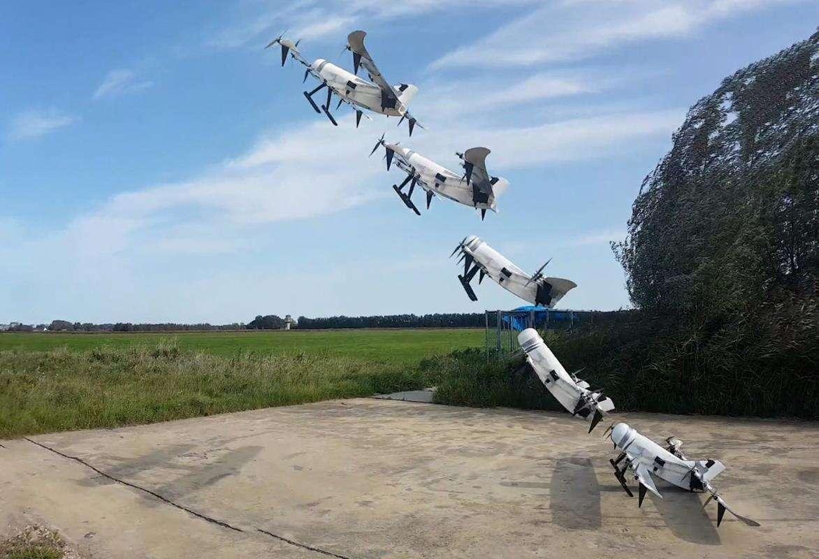 Takiego typu drona napędzanego wodorem jeszcze nie widzieliśmy