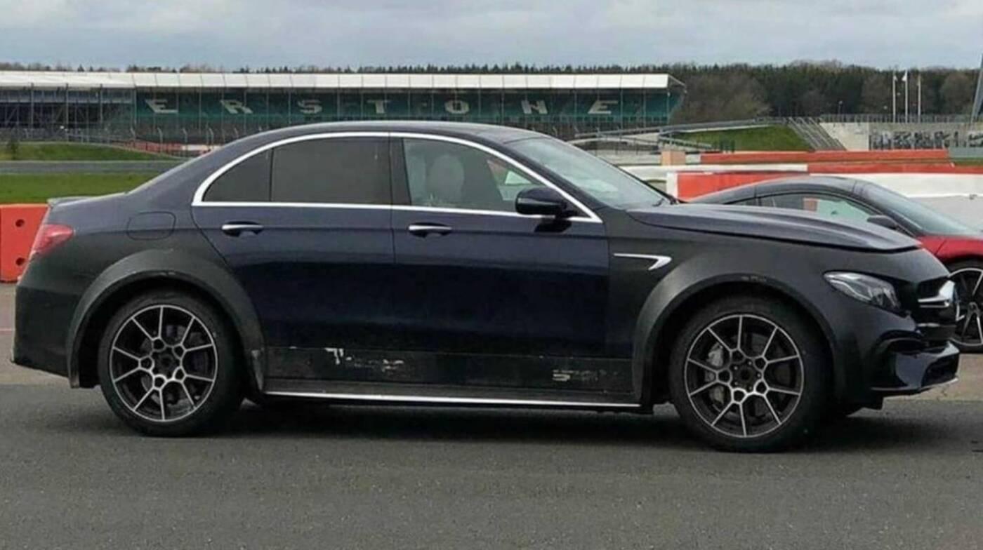 Ten dziwaczny Mercedes-AMG E63, to najpewniej DBX Astona Martina