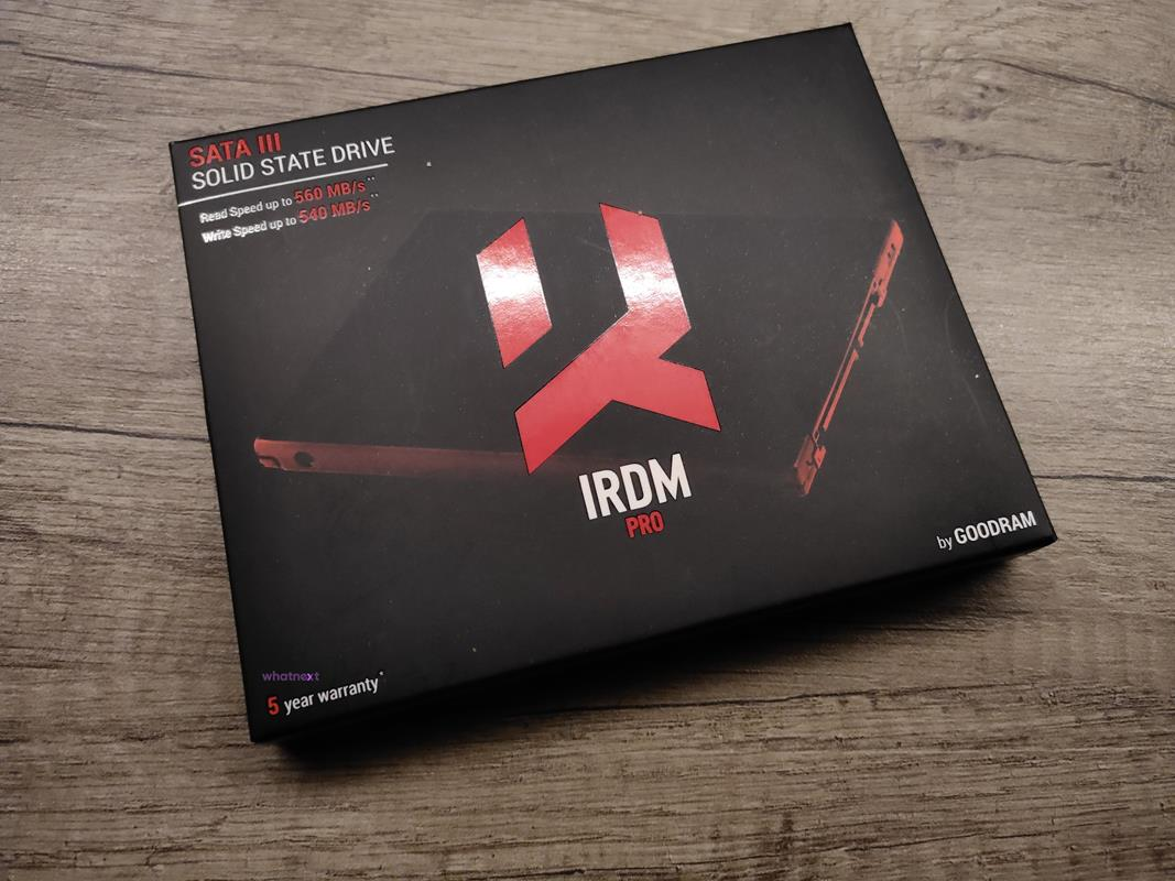 Test GoodRam IRDM Pro 1 TB drugiej generacji na SATA III