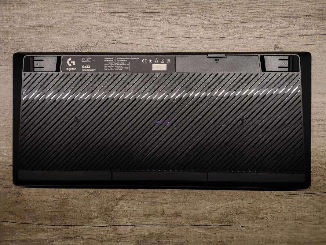Test klawiatury Logitech G613 Wireless