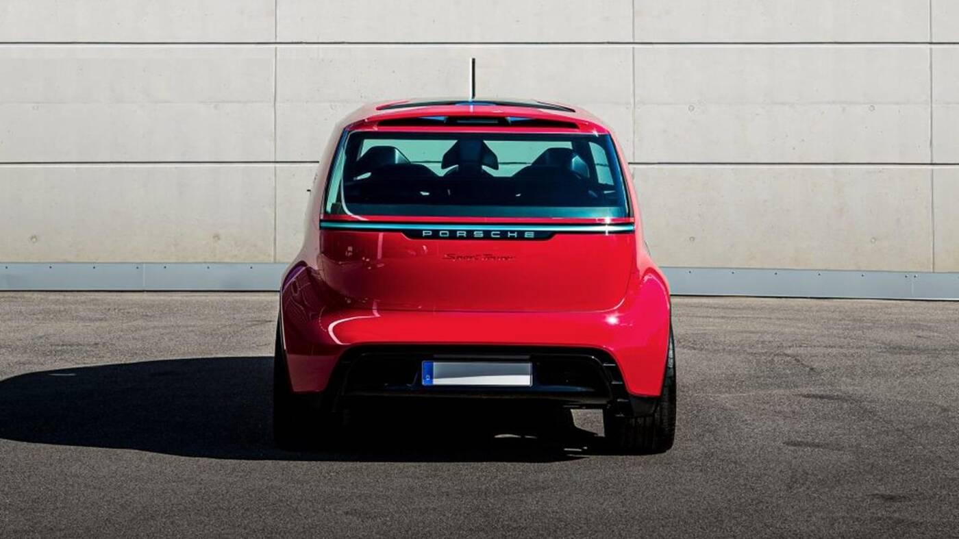 To nie żart, to naprawdę elektryczny van Porsche