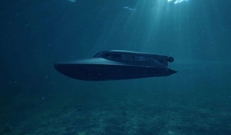VICTA to taka taksówka dla nurków na powierzchni i w głębinach