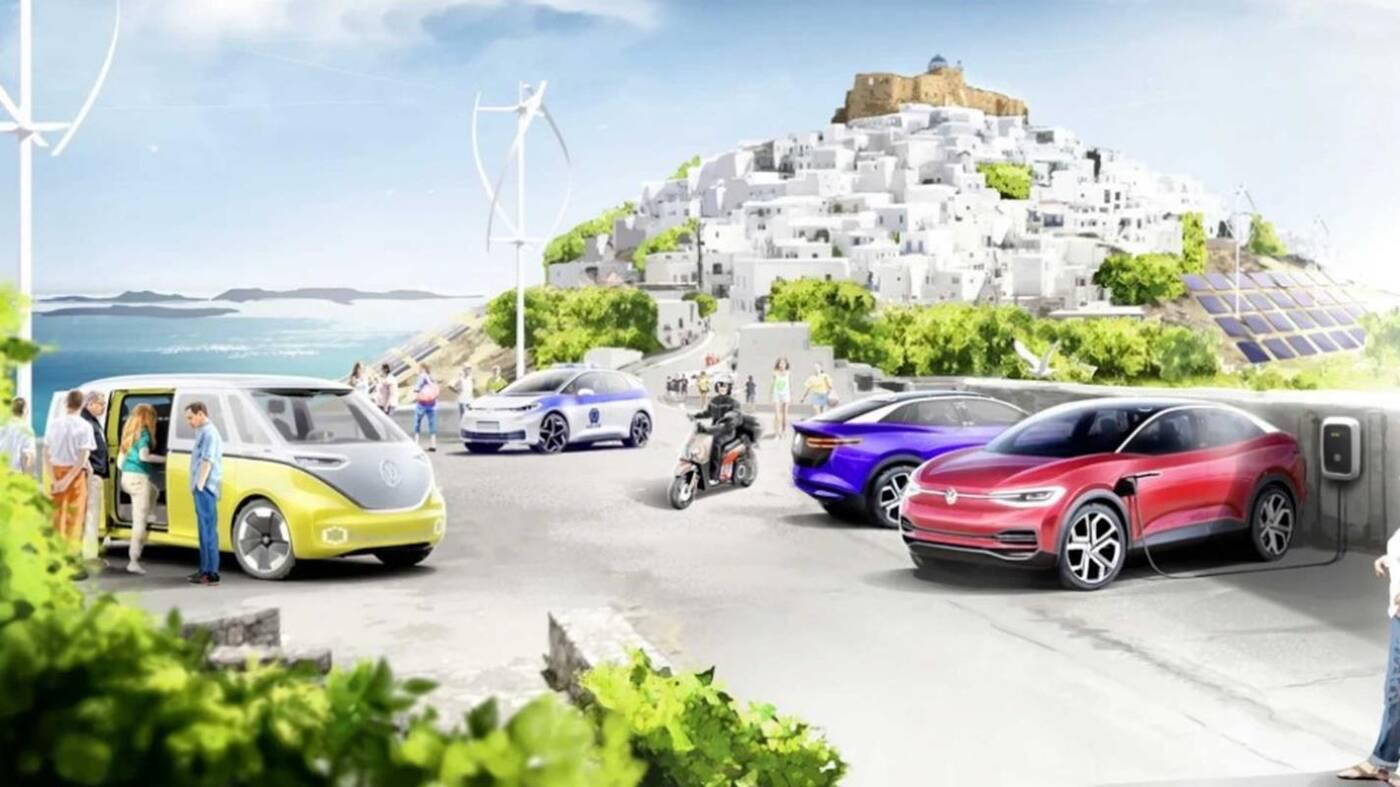Elektryczna rewolucja wyspy Astipalea w planach Volkswagena