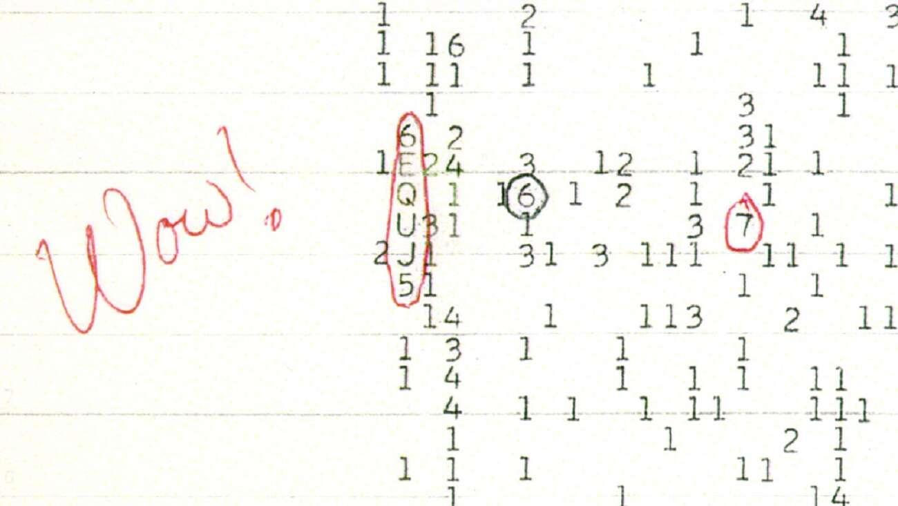 Sygnał Wow! lata temu poruszył astronomów. Teraz wiemy, skąd mógł pochodzić