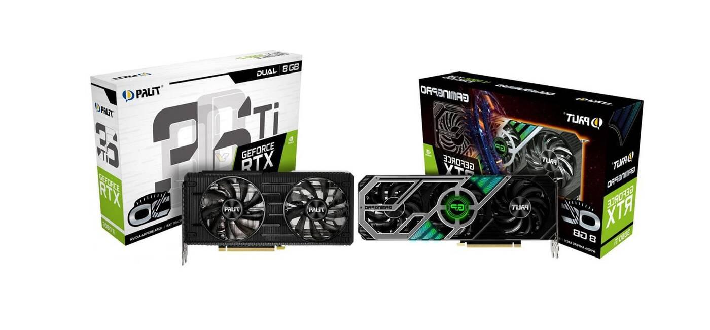 Zdjęcia GeForce RTX 3060 Ti Palita. Oto GamingPro i Dual OC
