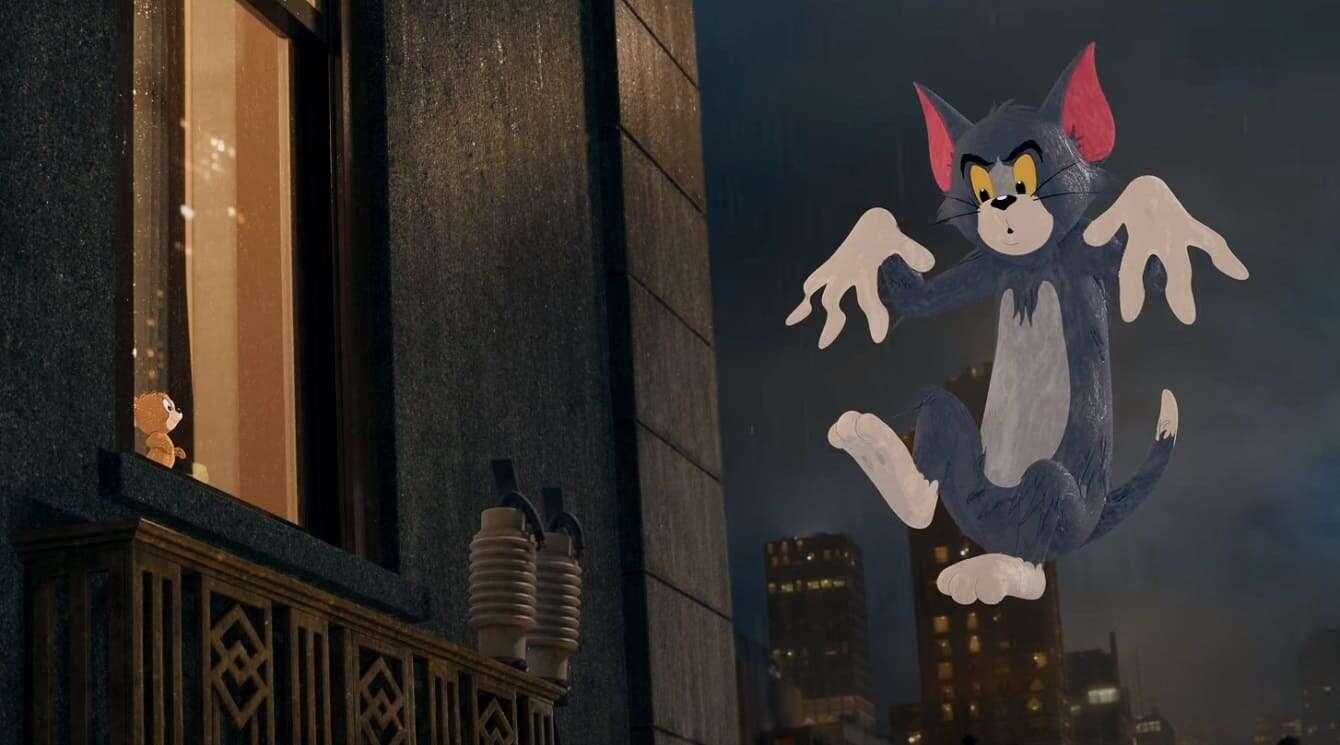 Zwiastun filmu Tom i Jerry to dziwna mieszanka live-action i animacji
