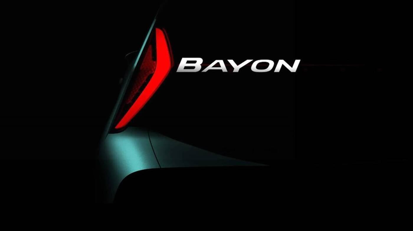 Hyundai Bayon 2021, Mały crossover dla Europy, Bayon 2021, zwiastun Bayon 2021