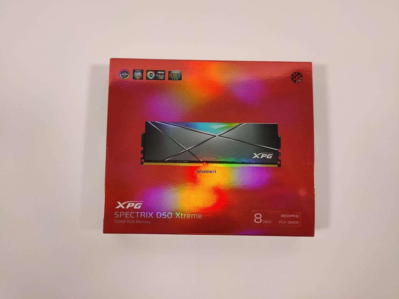 test Adata Spectrix D50 Xtreme 2x 8 GB 4800 MHz, recenzja Adata Spectrix D50 Xtreme 2x 8 GB 4800 MHz, review Adata Spectrix D50 Xtreme 2x 8 GB 4800 MHz, opinia Adata Spectrix D50 Xtreme 2x 8 GB 4800 MHz