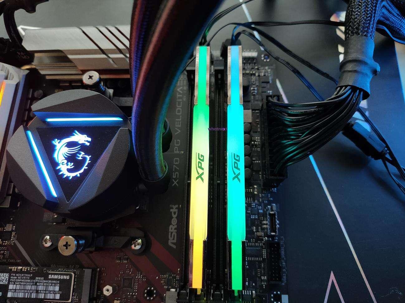 Test pamięci RAM Adata Spectrix D50 Xtreme 2x 8 GB 4800 MHz