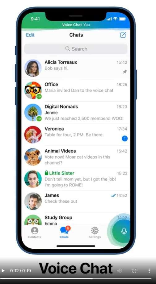 Aktualizacja aplikacji Telegram wprowadza spore zmiany
