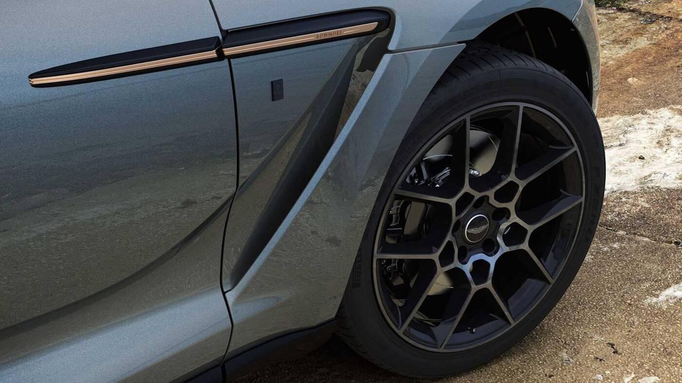 Aston Martin DBX Bowmore Edition, czyli hołd w stronę whisky